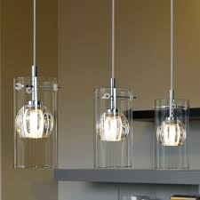 Eglo (93103) Ricabo Triple Transparent And Satinated Glass Pendant