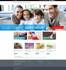 Carpet Cleaning Website Design Carpet Rug And Upholstery Cleaning Website In 15 Minutes