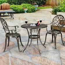 3 pcs outdoor set patio bistro with