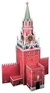 3D-пазл <b>CubicFun Спасская башня</b> (C118h), 33 дет. — купить по ...