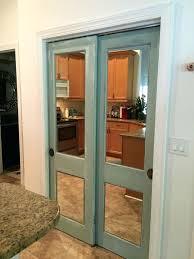 how to install mirrored closet doors medium size of bypass mirror door bottom track sliding mirror