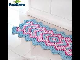 Free Crochet Rug Patterns Delectable Crochet Patterns For Free Crochet Rug Patterns 48 YouTube