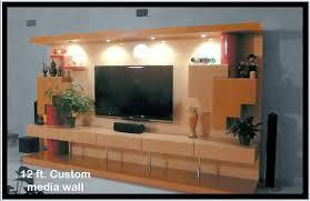 custom 12 foot media wall