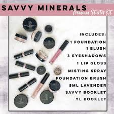 savvy minerals starter kits natural makeup makeover
