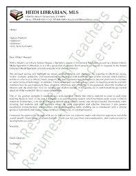 cover letter for librarians media librarian cover letter sample