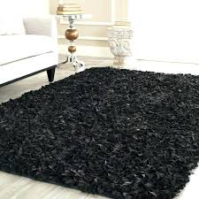 black furry rug black fur area rug black furry rug faux fur rug rectangle area rug