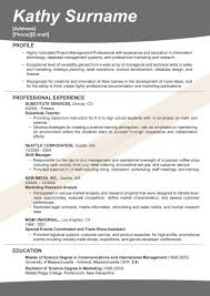 Successful Resume Template Free Resume Templates Most Popular Format Examples Of Good 5