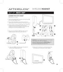 pl9929t afterglow universal xbox360 ps3 wireless dongle user page 5 of pl9929t afterglow universal xbox360 ps3 wireless dongle user manual afterglow wireless