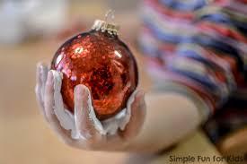 Decorating Christmas Ornaments Balls Handprint Snowmen Christmas Ornaments Simple Fun for Kids 51