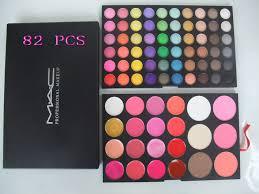 mac cosmetics professional makeup kit 82colors
