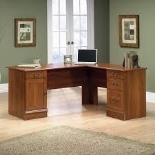 l shaped desks home office. Sauder Select Shaker Cherry L-Shaped Desk L Shaped Desks Home Office E