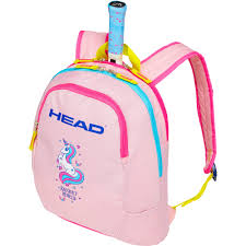 Backpack Light Pink Head Kids Backpack Light Pink Yellow