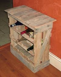 Reclaimed Wood Wine Cabinet Hand Made Pallet Wood 12 Bottle Wine Rack Floor Or Counter Top