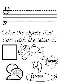 Letter S Worksheet For Preschool Worksheets for all | Download and ...