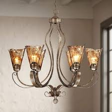 franklin iron works amber scroll 31 1 2 wide chandelier style
