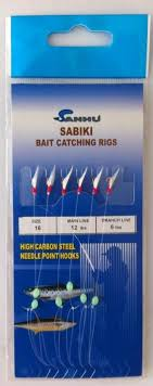 Sabiki Rigs Size 16 Model 469 10 Packs