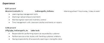 Auto Mechanic Description Auto Technician Resume Auto Resume