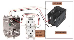 split circuit outlet electrical wiring done right split circuit outlet