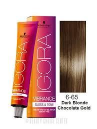 Schwarzkopf Igora Vibrance Gloss Tone Hair Color 6 65