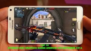 top 10 best free high graphics games android ios play september 2016 you