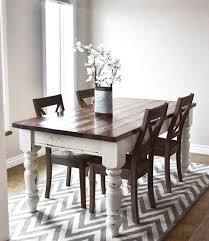 diy farmhouse kitchen table the