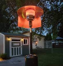 do fasten on patio heater reflectors