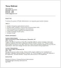 Marvellous Public Administration Resume 28 In Resume Examples With Public  Administration Resume