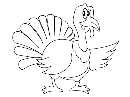 Turkey Color Page Free Printable Turkey Coloring Pages For Kids ...