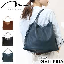 marineday tote bag soft leather one shoulder bag las simple simple made in japan north