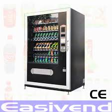 Drinks Vending Machines Mesmerizing Combo Snack And Drink Vending Machine Ev48 Buy Large Capacity