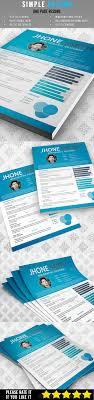 Best 25 Simple Resume Ideas On Pinterest Simple Resume Format