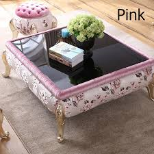 traditional square coffee table