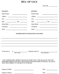 Continue reading this page to learn about your state's bill of sale requirements and how to complete a bill of sale form, including details about title transfers when buying or selling a vehicle. Free Bill Of Sale Form Pdf Word Templates Download 2020