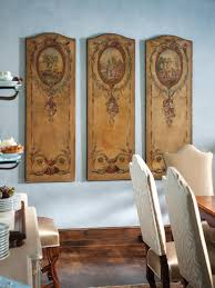 country living room ci allure: dining room art panels of old world design