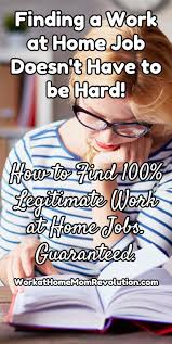 best ideas about jobs at home make money at home finding a work at home job doesn t have to be hard how to