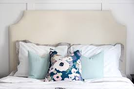 diy upholstered headboard just a girl and her blog