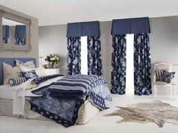 Light Blue Bedroom Curtains Royal Blue And Cream Curtains