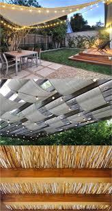 backyard shade shade sails patio
