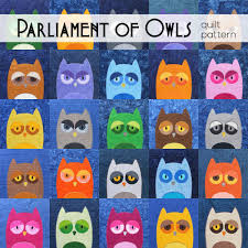 Parliament of Owls Quilt Pattern – Shiny Happy World & Parliament of Owls Quilt Pattern Adamdwight.com