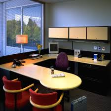 interior of office. Office Interior Designs At Home And Corporate: Extravagant Modern Style Design Small Space. « Of