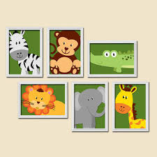 on jungle animal wall art with boy animal nursery boy animal wall art from trm design wall art