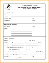 Welder Resume Dental Receipt Sample Welder Resume Invoice Template Excel Free 47