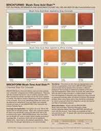 Brickform Acid Stain Color Chart 38 Best Concrete Stain Colors Images Stain Colors