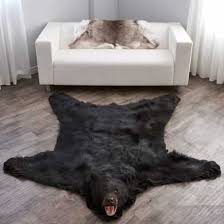 black bear skin rugs bear skin rug at bear skin world