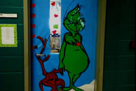 grinch christmas door decorating ideas. Interesting Ideas Grinch Christmas Door Decorating Ideas In O