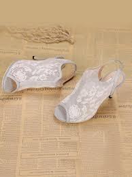 <b>Hot Sale Women</b> Lace Stiletto Heel Slingbacks <b>Peep</b> Toe Sandals ...