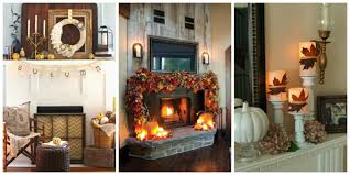 Amusing Mantel Decorating Ideas For Fall Photo Decoration Ideas