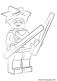 Lego Nightwing 2 Coloring Pages Printable