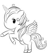 Disegni Di Unicorno Da Colorare Pagine Da Colorare Stampabili
