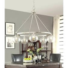 nickel orb chandelier bedroom